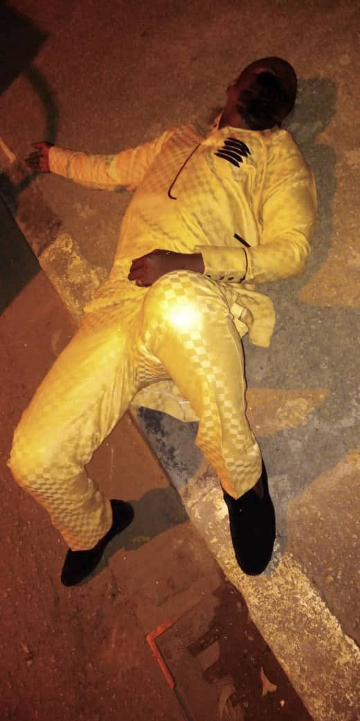 RRS rescues drunk nightclub goer who slept off along the road in Lagos