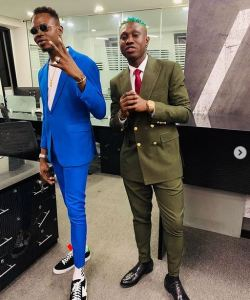 [PHOTOS]: Zlatan Ibile Steps Out Looking Dapper With Rahman Jago