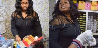 Ghanaian Lady Who Sells Drugs To Make The Vagina Sweeter And Trap Men Arrested!