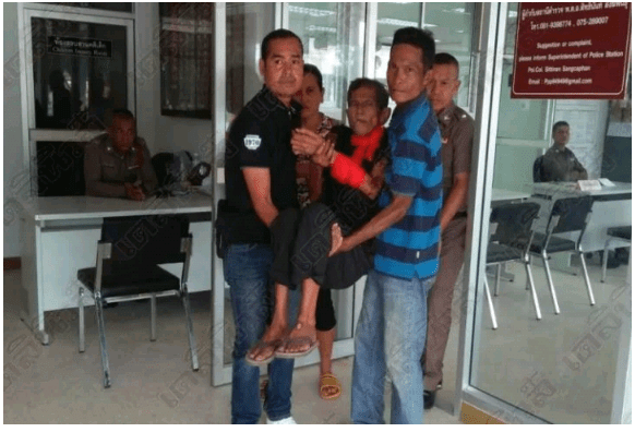 [Photos]: Police arrest 71-year-old who raped an 80-year-old woman