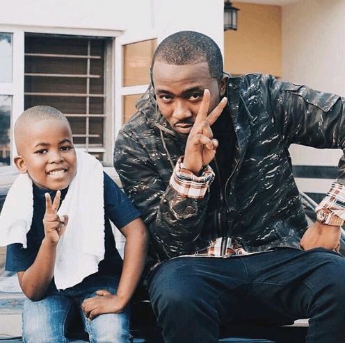 Ice Prince and his son, Jamal