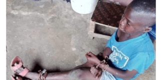 9-Year-old Tied By His Parents In Abia State Finally Rescued