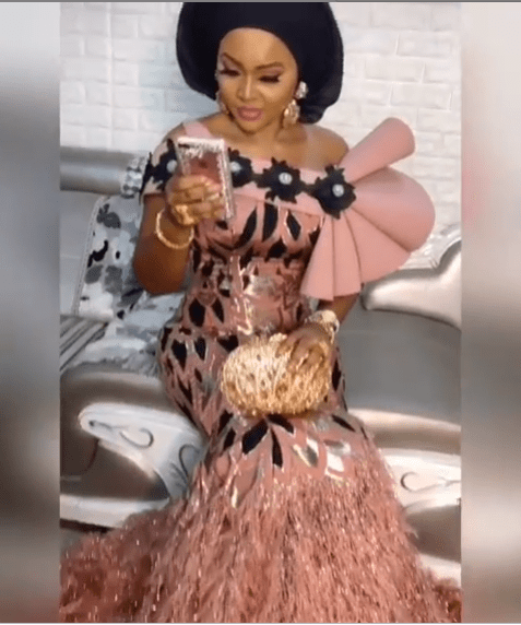 'Queen Of Owmabe' - Mercy Aigbe Slays In Stunning Traditional Outfit