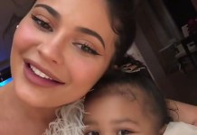 Kylie Jenner and Daughter, Stormi Webster