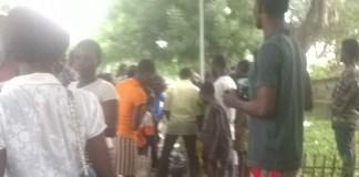[Photos]: Mob Sets Suspected Thief Ablaze In Calabar