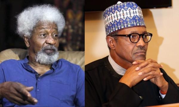 Wole Soyinka, President Buhari