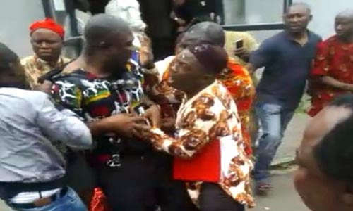 Ike-Ekweremadu attacked by IPOB members