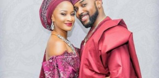 Celebrity couple, Adesua and Bank W