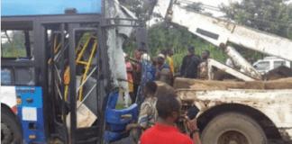 BRT at the accident scene