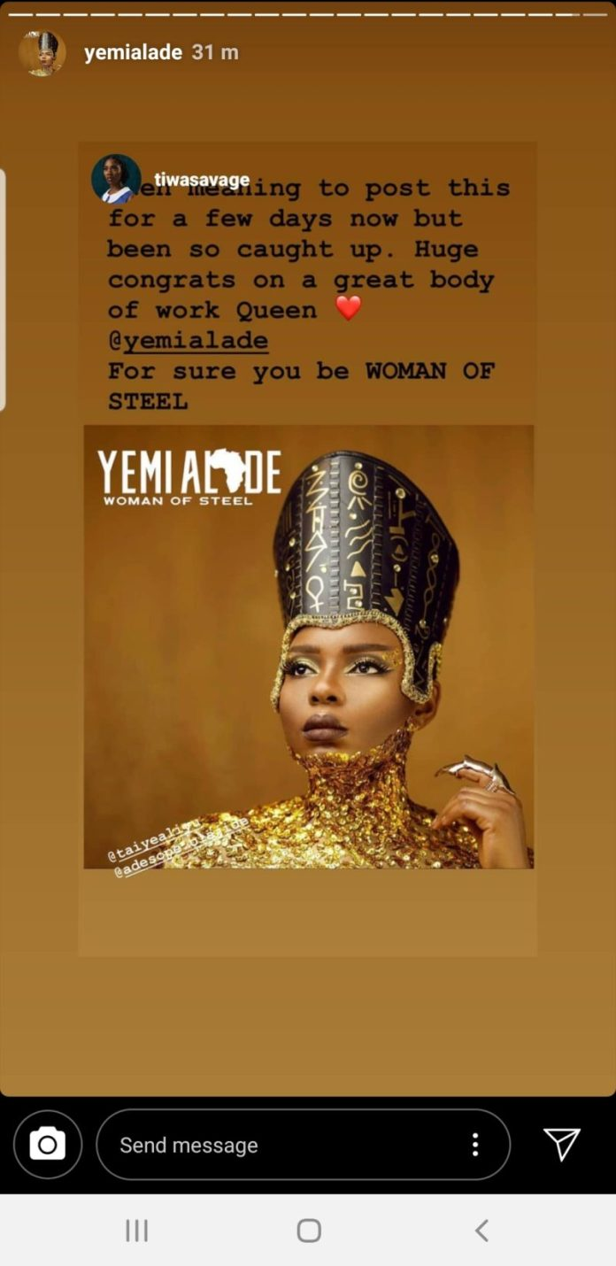 Yemi Alade's post