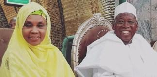 Governor Ganduje and Wife