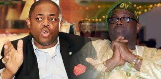 Fani kayode and dele momodu