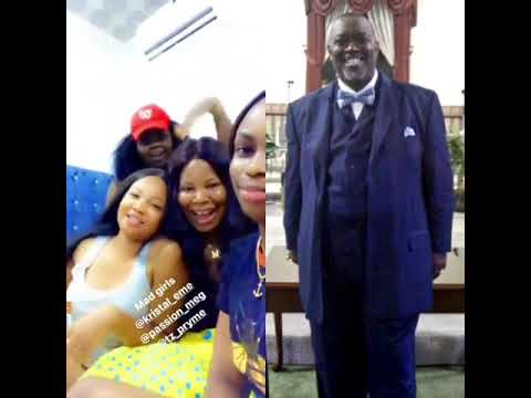 The Nigerian ladies and Pastor Wilson David