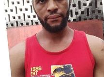 The suspect, Okeke Anthony
