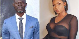 Yemi Alade and Djimon Hounsou