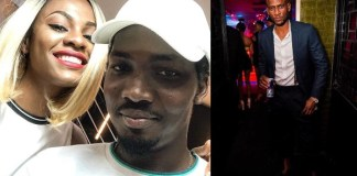 Jackye Madu and her boyfriend versus Omashola