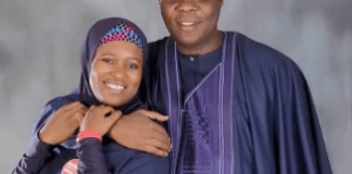 Aisha Yesufu and Husband
