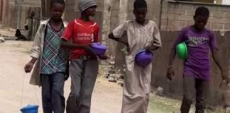 Street beggars in Kano