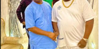 Cubanachief priest and Imo state governor, Hope Uzodinma