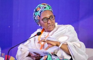 Finance, Budget and National Planning Minister, Mrs. Zainab Ahmed