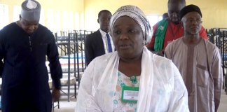 Kaduna State Deputy Governor, Hadiza Balarabe.