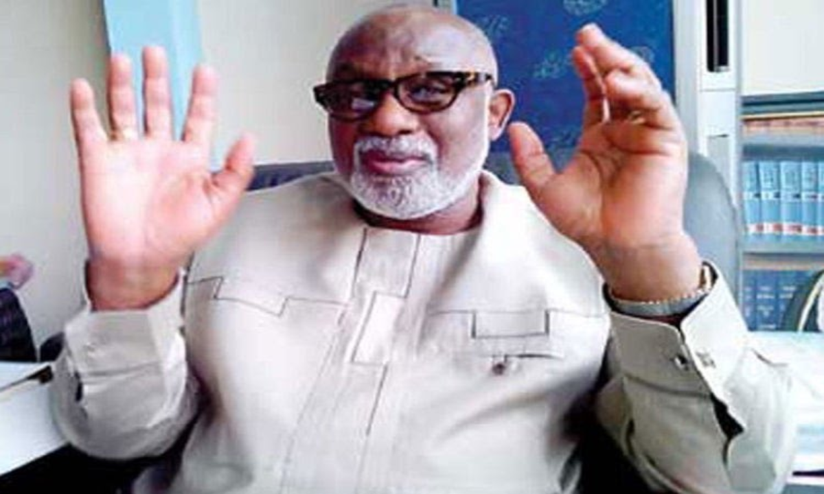 I Am Still In The Governorship Race  Akeredolu