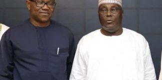 Atiku Abubakar and Peter Obi