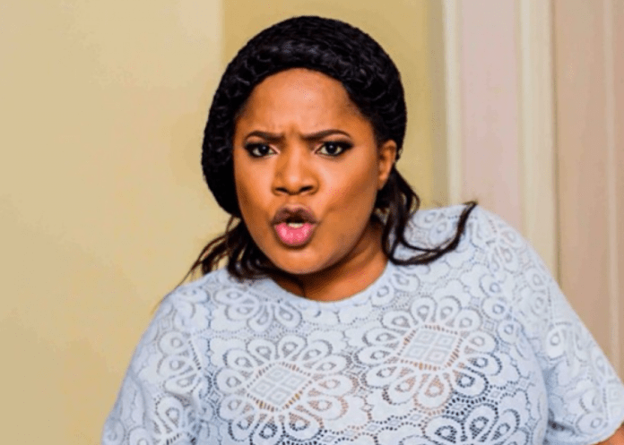 #EndSARS: Nigerians Drag Toyin Abraham For Promoting Her Movie Amid Protest