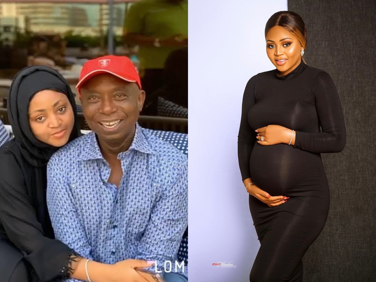 AGN Visits Regina Daniels Home; Names Her Newborn Nollywood Baby Of The Year (Video)