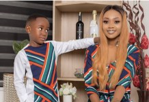Akuapem Poloo and her son