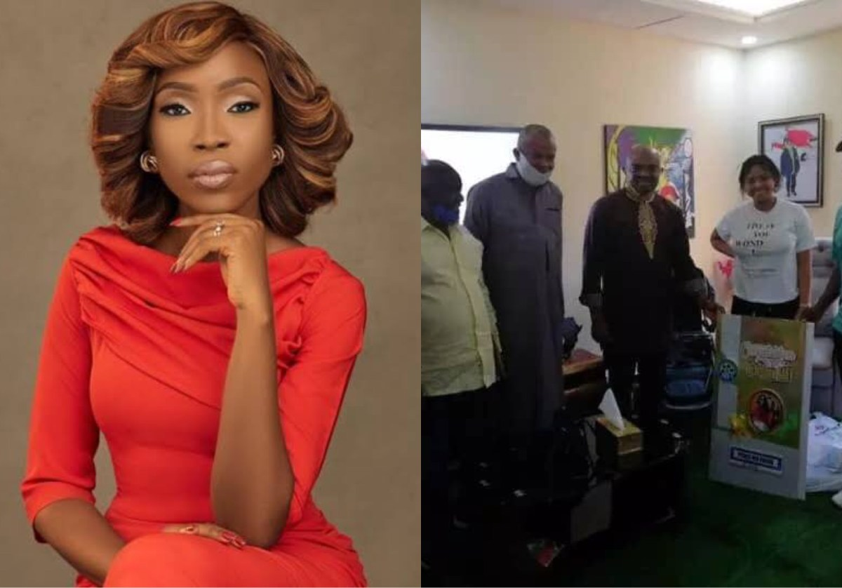 AGN Replies Lala Akindoju After Codemning Visit To Regina Daniels