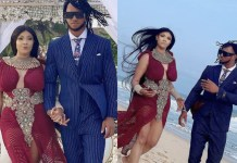 Angela Okorie and her husband