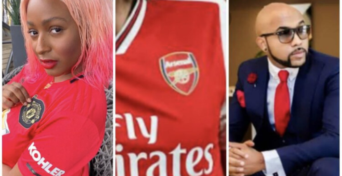 Banky W Mocks DJ Cuppy For Dumping Arsenal FC