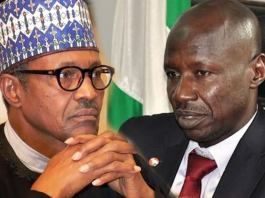 Ibrahim Magu and President Buhari