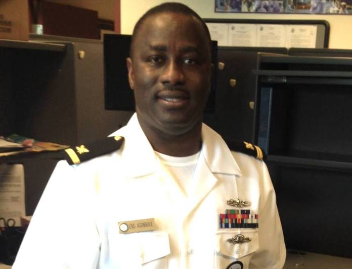 US Navy Commends Nigerian Man
