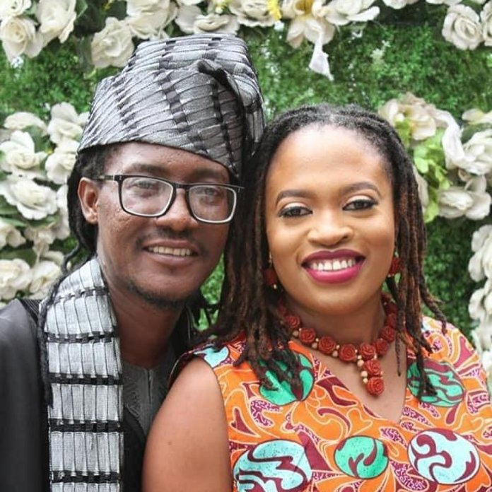 Jesse Jagz and his wife