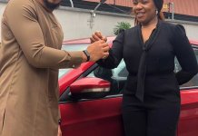 BBNaija Ozo receives Innoson vehicle