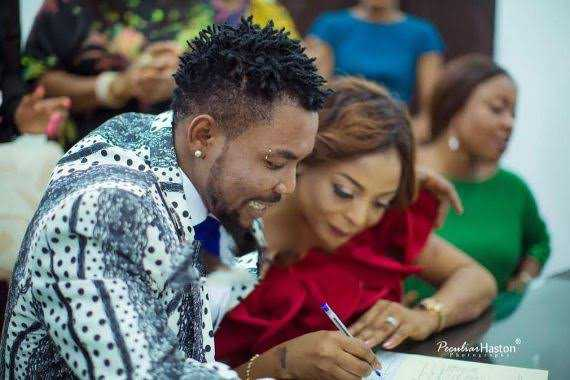 Singer Oritsefemi calls out Actress Carolina Danjuma for allegedly being behind the marital crisis he is currently enmeshed in with his wife, Nabila Fash
