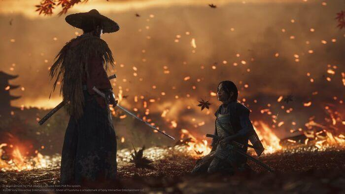 Watch 18 Minutes of New Ghost of Tsushima Gameplay Shots