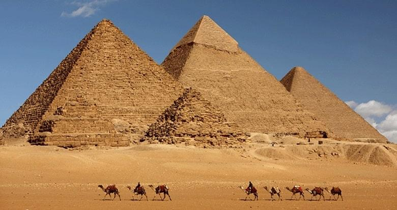 The Great Pyramid of Giza (Egypt)