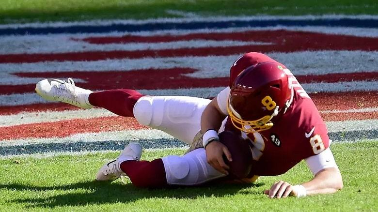 Kyle Allen Suffered an Ankle Injury in 1st Quarter