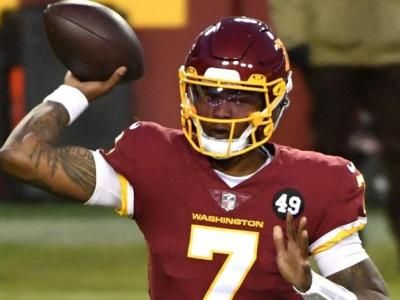 Dwayne Haskins Signed Future Deal With Pittsburgh Steelers