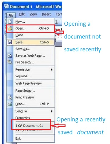 Open Save Document012