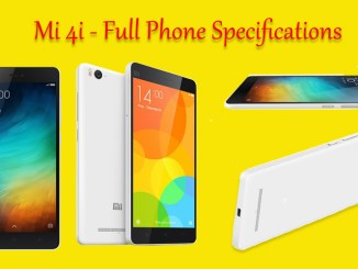 Mi 4i - Full phone specifications