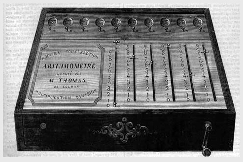 Arithmometer – Charles Babbage  Invented