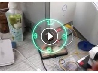 Amazing Clock Videos – Amazing RGB Propeller Clock's