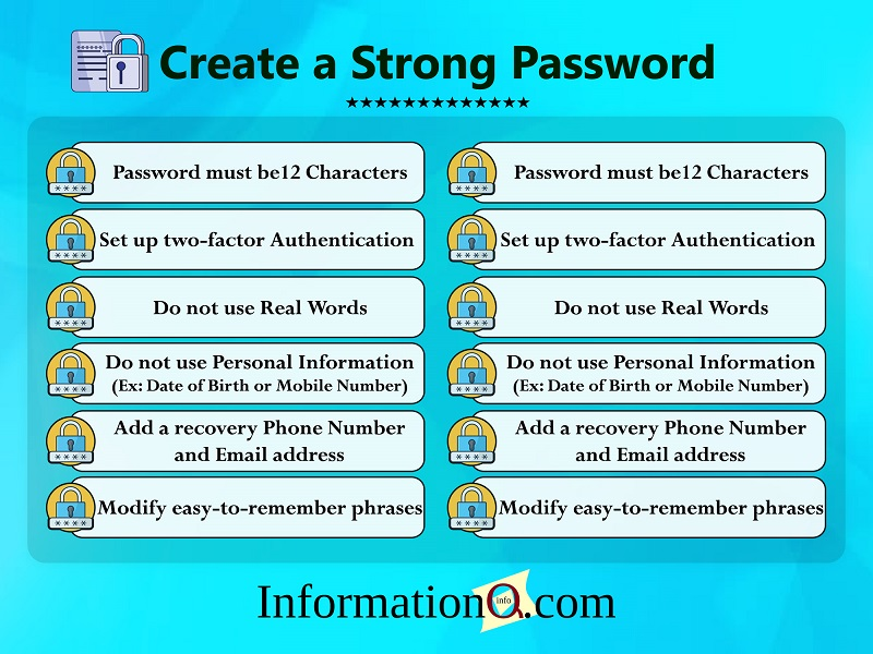 Tips to Create a Strong Password