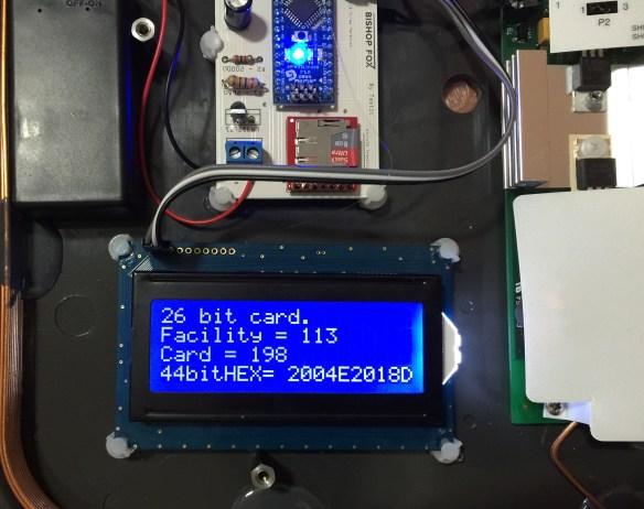 TASTIC - LCD Card Read