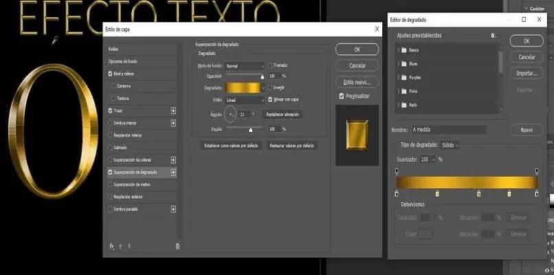 Comment Creer Un Effet De Texture Doree Ou Doree Avec Adobe Photoshop Informatique Mania