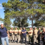 Diputación y Bomberos presentan la campaña estival contra incendios